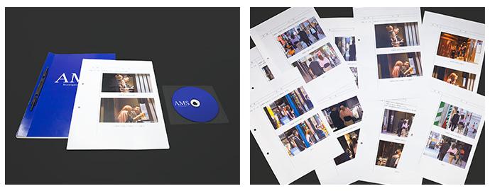 AMUSE探偵事務所の調査報告書と証拠DVD